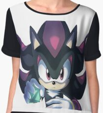 Shadow the Hedgehog Chaos Control Women's Chiffon Top
