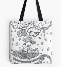 Sea in a cup - Tales of the sea Tote Bag
