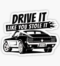 Drive it - fastback Sticker