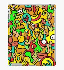 """BOINGO"" animal doodle colour cartoon iPad Case/Skin"