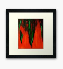 Born in the fire of life Framed Print