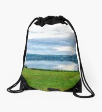 Backyard Drawstring Bag