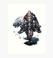 Old Nord - Guild Wars 2 Art Print