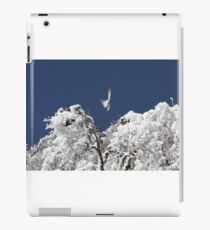 After a snowstorm on Jomolhari trek iPad Case/Skin