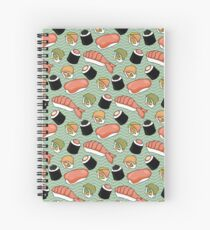 Sushi Lovers Spiral Notebook