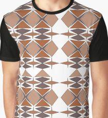 tissu marron Graphic T-Shirt