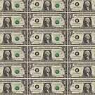 United States Dollar Bills by pjwuebker