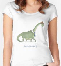 Papasaurus Women's Fitted Scoop T-Shirt