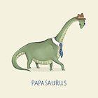 Papasaurus by Katie Corrigan