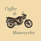 «Café y motocicletas» de itsamoose