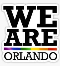We Are Orlando Sticker