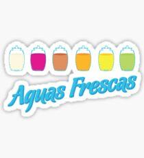Aguas Frescas Sticker