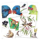 Australian Animal Collage by Meaghan Roberts