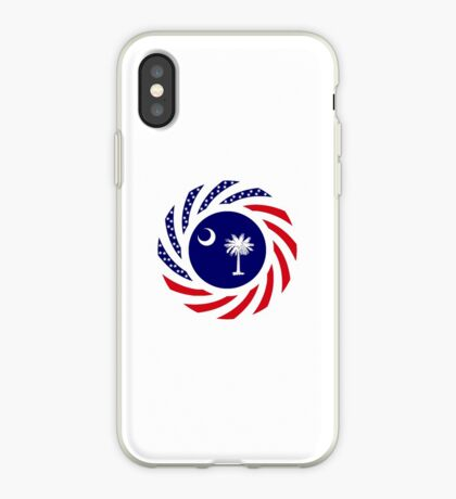 South Carolina Murican Patriot Flag Series iPhone Case