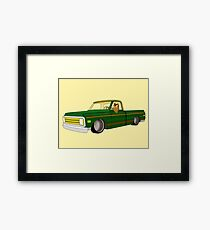 Picture Me Rollin' Framed Print