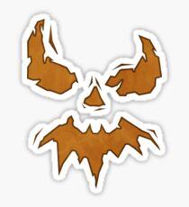 Villan Scarecrow  Sticker