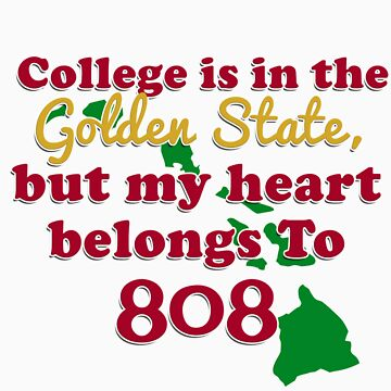 College student: My Heart Belongs to 808 by RedRaider4Life