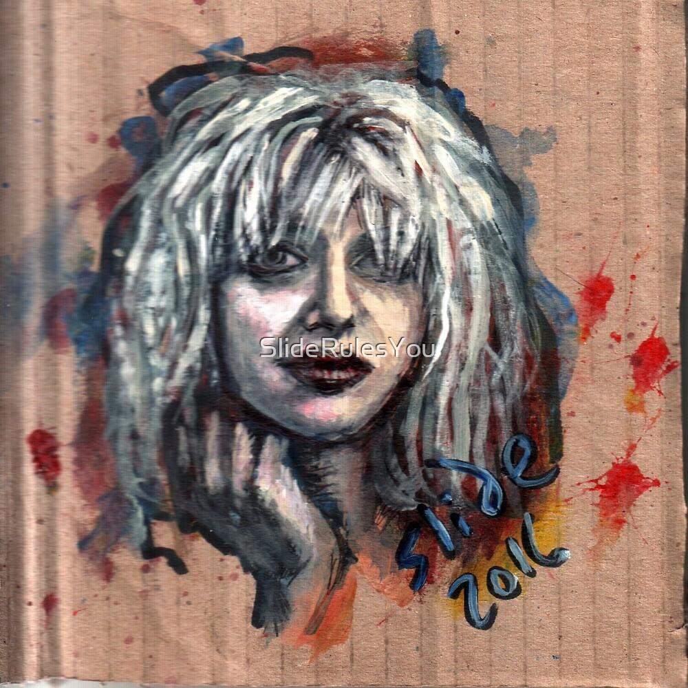 Courtney Love by SlideRulesYou