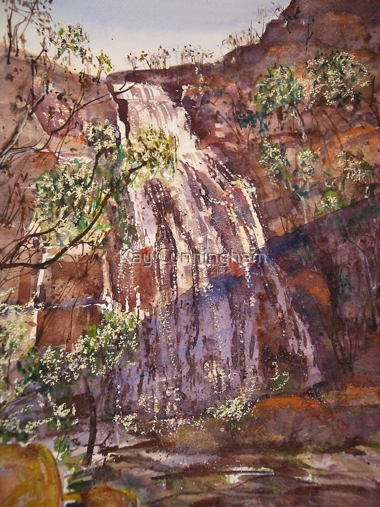 Clematis Falls by Kay Cunningham