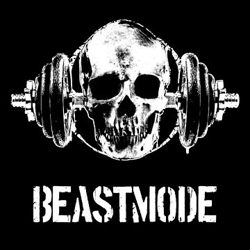 Beast Mode | Fitness Skull by thirteenmedia
