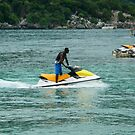 Jet - Skiing in the Caribbean by ctheworld