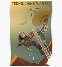 Technicians Wanted Poster