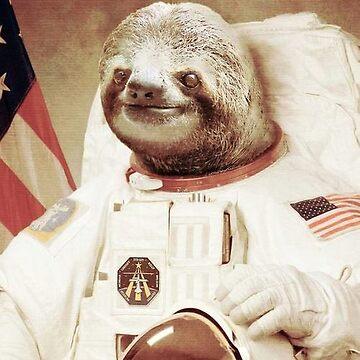 Astro Sloth by Imaginals