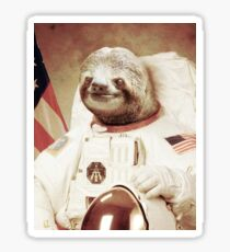 Astro Sloth Sticker