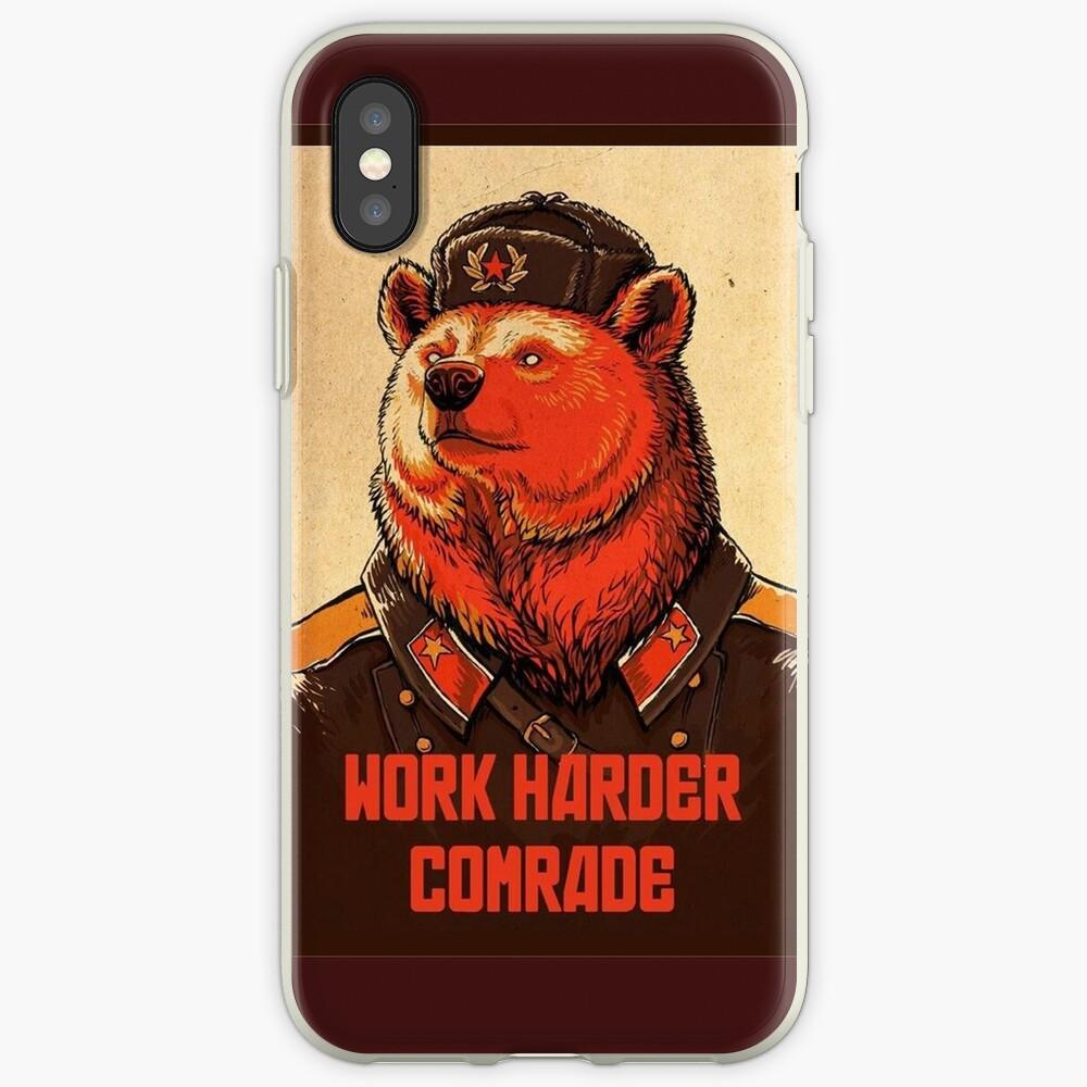 Arbeite härter, Kamerad iPhone-Hülle & Cover