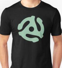 vinyl record green adapter T-Shirt