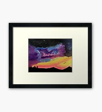 Western Galaxy Framed Print