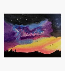Western Galaxy Photographic Print