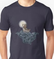 And an ocean tumbled by Unisex T-Shirt