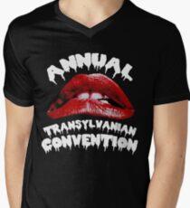 Rocky Horror   Annual Transylvanian Convention Men's V-Neck T-Shirt