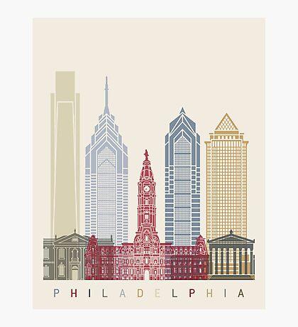 Philadelphia skyline poster Photographic Print