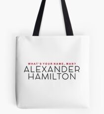 What's Your Name, Man? Tote Bag
