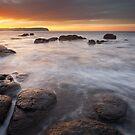 Pebble Beach Sunrise by Nick Skinner