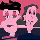 Cindy and Sue by IrisGelbart