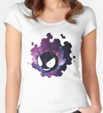 Galaxy Gastly Women's Fitted Scoop T-Shirt