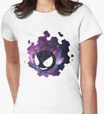 Galaxy Gastly Women's Fitted T-Shirt
