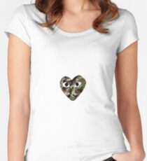 Camo CDG Women's Fitted Scoop T-Shirt