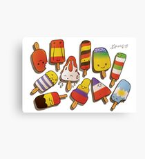 WORLD CUP 2014 LOLLIES Canvas Print