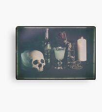 L'Absinthe C'est La Mort I Canvas Print