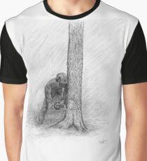 Arborist Tree Surgeon Lumberjack Logger Stihl chainsaw Graphic T-Shirt