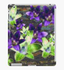 Floral design iPad Case/Skin