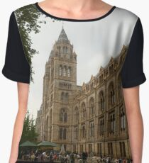 The Natural History Museum Building Chiffon Top