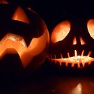 Two Happy Pumpkins by Vicki Spindler (VHS Photography)