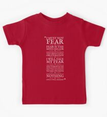 Litany Against Fear Kids Tee