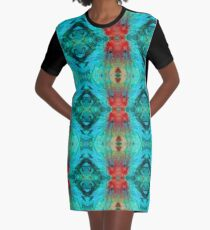 Colorful Patterns - Life Circles - By Sharon Cummings Graphic T-Shirt Dress
