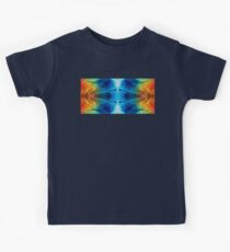Colorful Abstract Art Pattern - Color Wheels - By Sharon Cummings Kids Tee